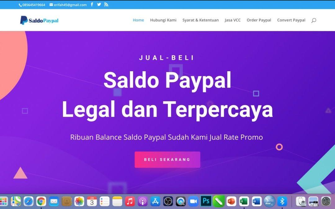 Jasa Withdraw Convert Saldo Paypal ke Rupiah