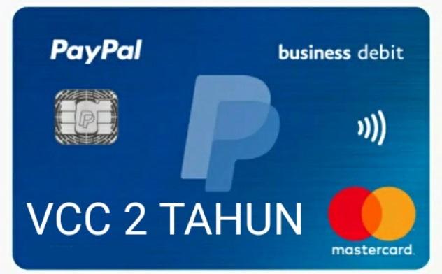 VCC PAYPAL 2 TAHUN : RP. 50.000